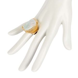 Louise Et Cie Jewelry Mother Of Pearl Ring